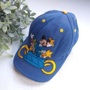 Vintage Disney Mickey embroidered ball cap hat